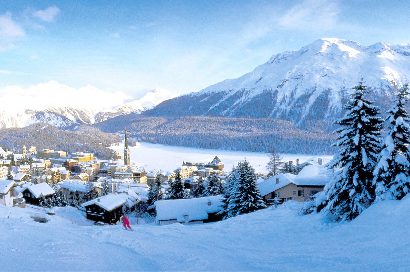 Skijanje St Moritz Ski Portal