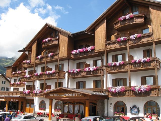 hotel cima rosetta 3 s ski portal